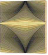 Composition 147 Wood Print