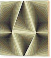 Composition 192 Wood Print