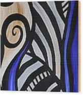 Composition Wood Print