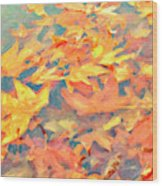 Computer Generated Image Of Autumn Wood Print