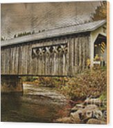 Comstock Bridge 2012 Wood Print