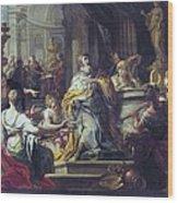 Conca, Sebastiano 1680-1764. The Wood Print by Everett