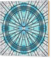 Concentric Eccentric 3 Wood Print by Brian Johnson