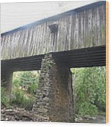Concord Covered Bridge Wood Print