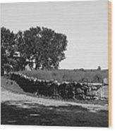 Concord: Meriams Corner Wood Print by Granger