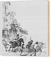 Concord: Minutemen, 1775 Wood Print