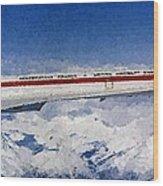 Concorde Wood Print