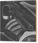 Concours At Dusk 1935 Auburn Speedster Wood Print