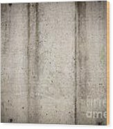 Concrete Wall Wood Print