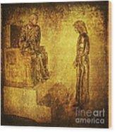 Condemned Via Dolorosa1 Wood Print by Lianne Schneider