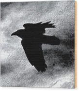 Condor In Flight Wood Print