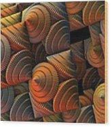 Cones Wood Print