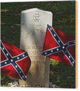 Confederate Grave   #2831 Wood Print