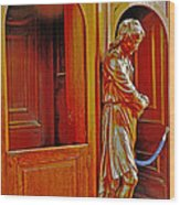 Confessional Halo Wood Print