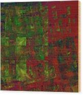 Confetti - Abstract - Fractal Art Wood Print