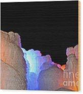 Confetti Colors Wood Print
