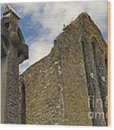Cong Abbey, Ireland Wood Print