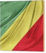 Congo Flag Wood Print