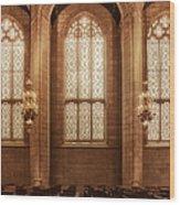 Congregation Wood Print