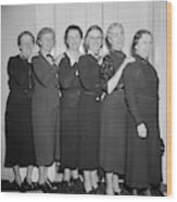 Congresswomen, 1938 Wood Print
