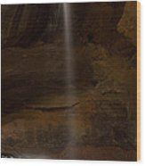 Conkles Hollow Falls Wood Print