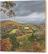 Connecticut Country Wood Print