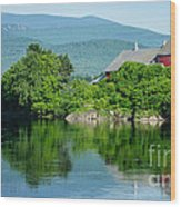 Connecticut River Farm II Wood Print