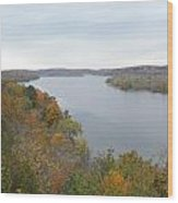 Connecticut River Wood Print