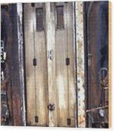 Connecting Doors Brechin Railway Station Wood Print