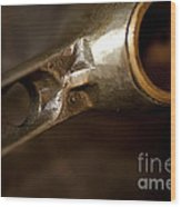 Connecting Rods Indian Scout Racer Wood Print