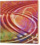 Connexion Wood Print by Ann Croon