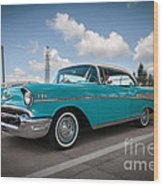conrictrice 56 Chevy Wood Print