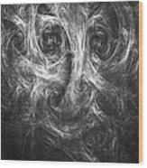 Conscience 01 Wood Print