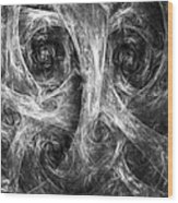 Conscience 02 Wood Print