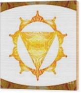 Conscious Spirituality Abstract Chakra Art By Omaste Witkowski Wood Print