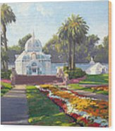 Conservatory Of Flowers - Golden Gate Park Wood Print