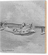 Consolidated Catalina Pby Wood Print