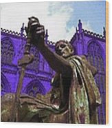 Constantine The Emperor At Yorkminster Wood Print