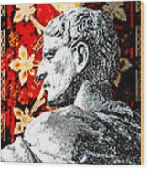 Constantine The Great Wood Print