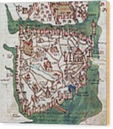 Constantinople, 1420 Wood Print