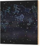 Constellations Wood Print