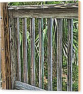 Containment Wood Print by Wendy J St Christopher