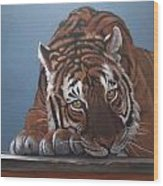 Contemplation Bengali Wood Print