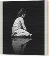 Contemplation In Dark Wood Print by Pedro L Gili