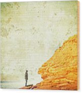 Contemplation Point Wood Print