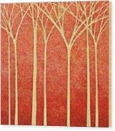Contemplations Wood Print