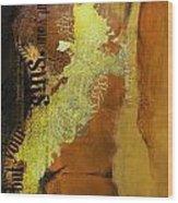 Contemporary Islamic Art 064b Wood Print