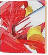 Contemporary Vector Art 1 Wood Print
