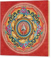 Continuing Mandala Wood Print