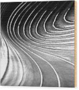 Contours 9 Wood Print